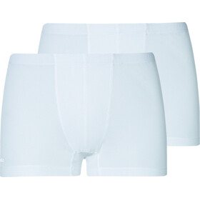 Odlo Active Cubic Light Short de bain Pack de 2 Homme, white-snow white